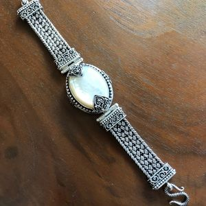 Jewelry - Sterling Mother of Pearl Bracelet